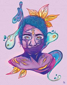 Femme-Kanak - Cé - Artistes NC