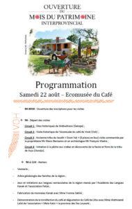 programme mois du patrimoine 1