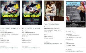 stage vacances ecole de danse art et mouvement